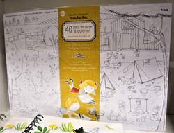 40 sets de table à colorier Moulin Roty