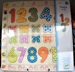 Puzzle 1-10 2 ans+