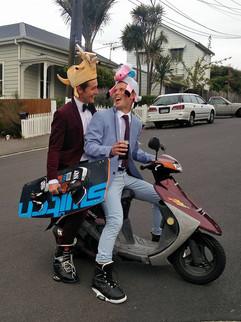 Jonty and Tom