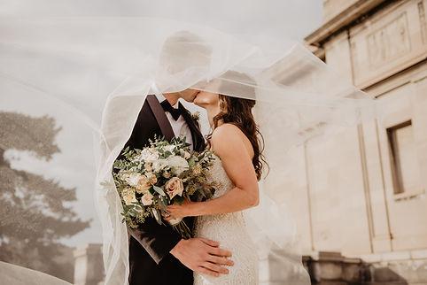 Bride and Groom - Short Lead Wedding