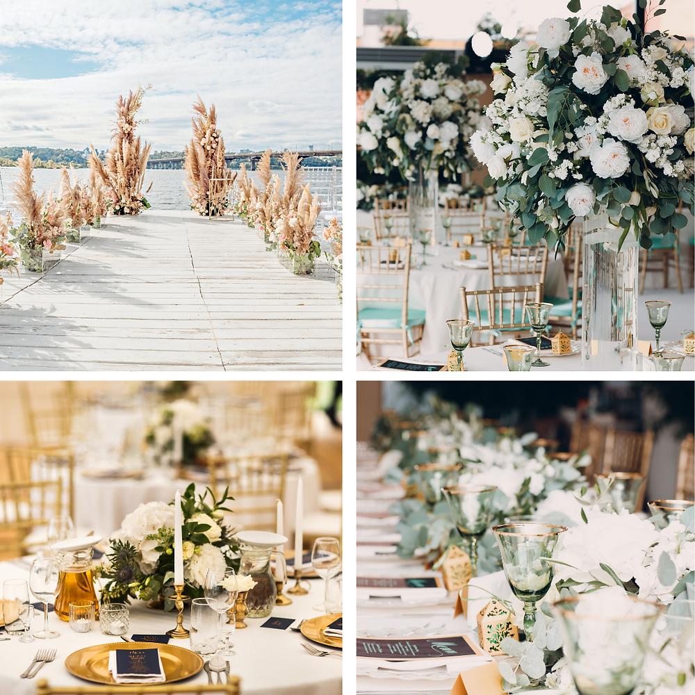 Sage and Gold Wedding Colour Scheme 2021/2022