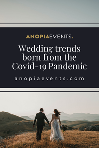 Wedding Trends Born following the Covid-19 Pandemic