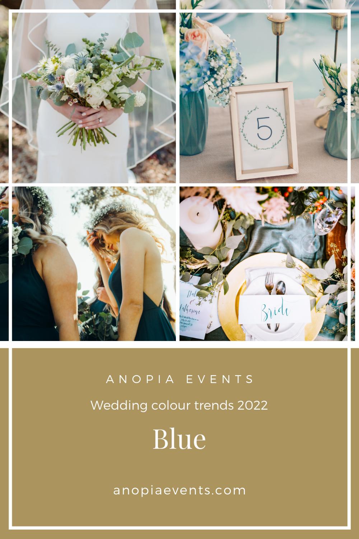 Light blue wedding colour scheme inspiration