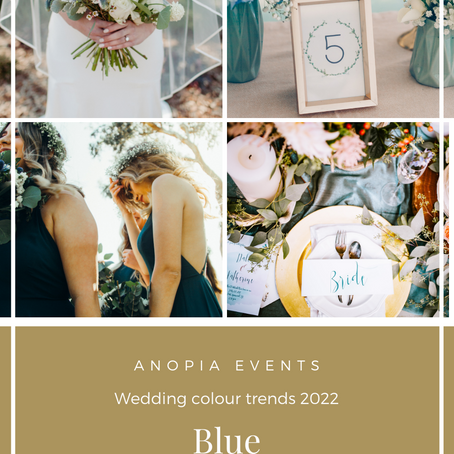 2022 Wedding Colour Trend Predictions