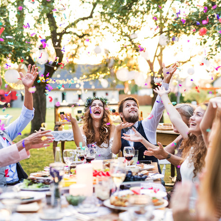 The Logistics of Planning Outdoor Weddings and Celebrations at Home