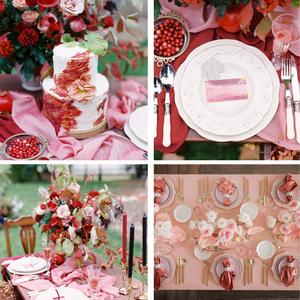 Red and Pink Wedding Colour Scheme 2021/2022