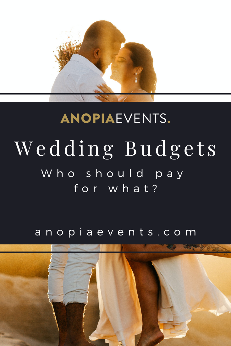 Wedding Etiquette - Who Should Pay for What?