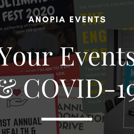 Your Events and Covid-19
