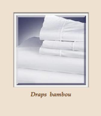 Draps en bambou
