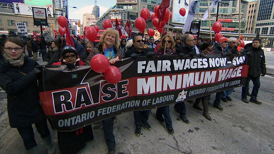 Rally for $14 Minimum Wage