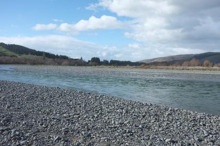 20. Hurinui River sand