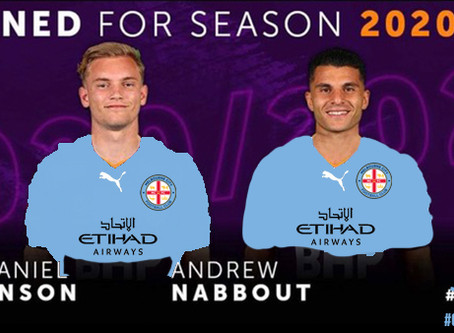 City continue Glory raid with Nabbout signing
