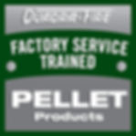Factory Service Trained Decal Square Pel