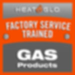 Factory Service Trained Decal Square Gas