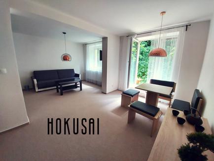 HOKUSAI obývací pokoj a kuchyň