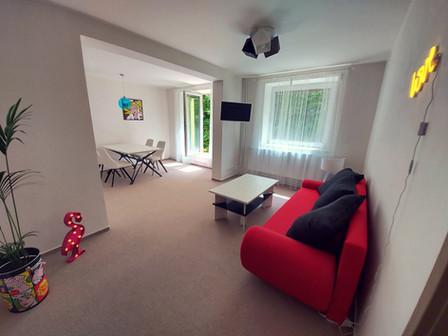 POP ART obývací pokoj