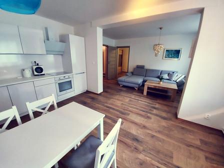 MYKONOS obývací pokoj a kuchyň
