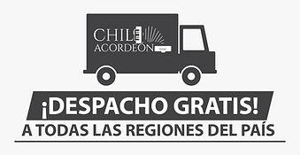 Gratis, despacho gratis, venta y reparación de acordeones en Chile.