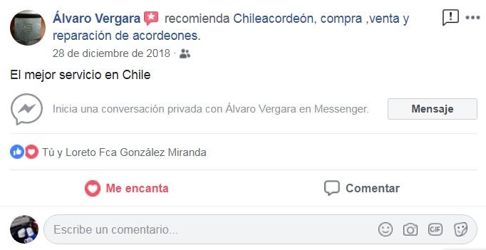 opiniones clientes ChileAcordeon