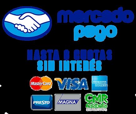 Chile acordeon. mercado pago, paga en cuotas sin interes