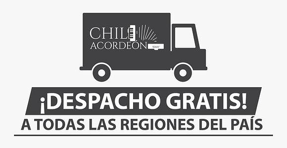 Envió Gratis a todo Chile en 24 Hrs. hábiles.