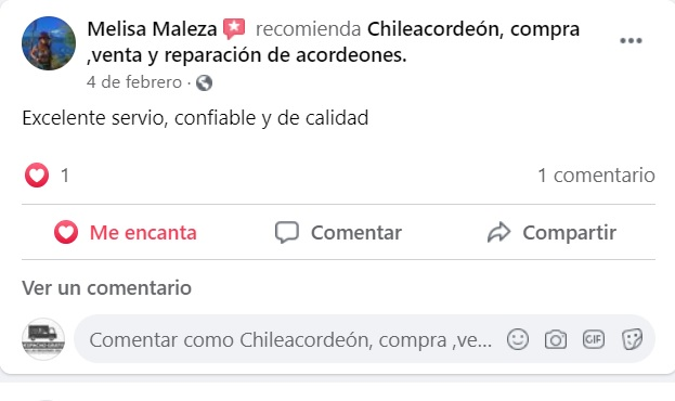 opiniones clientes ChileAcordeon