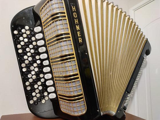 Acordeón Alemán Hohner Maestro IV 120 bajos Cromático.