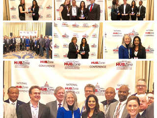 Inoventures Earns 2018 HUBZone Owner of the Year Award by National HUBZone Council