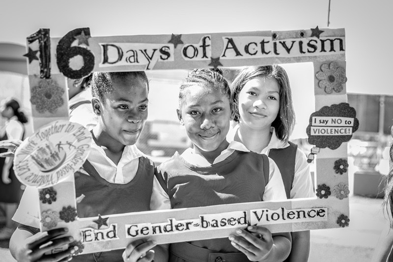 Kim Simplis Barrow - 16 Days of Activism