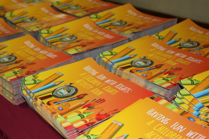 Launch of Having Fun with Rights: A Children's Activity Book
