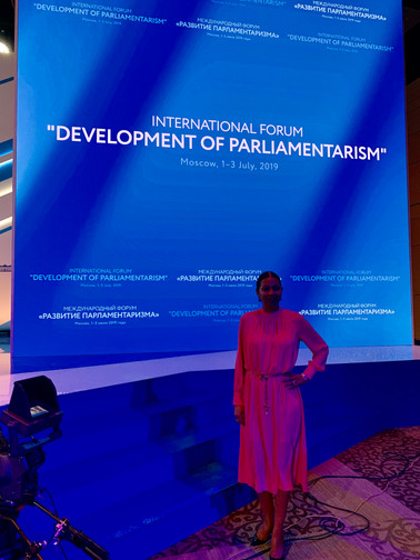Kim Simplis Barrow - Development of Parl
