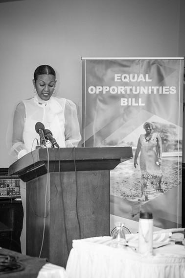 Kim Simplis Barrow - Equal Opportunities