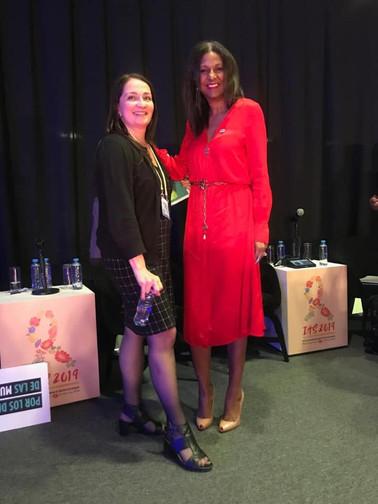 Kim Simplis Barrow - International AIDS