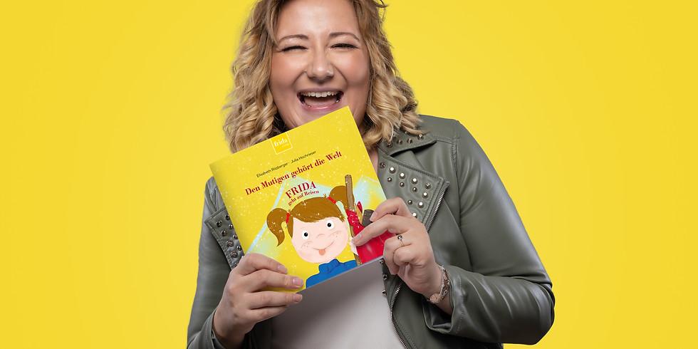 """Start der neuen Kinderbuchreihe """"Frida geht auf Reisen"""""""