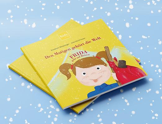 """Kinderbuch """"den Mutigen gehört die Welt"""""""