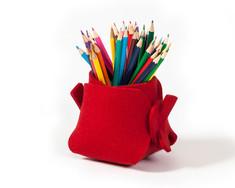 boodo wool felt pen holder red2.jpg