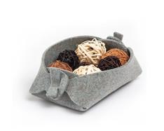 boodo wool felt organizer aqua gray.jpg