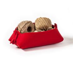 boodo wool felt organizer red.jpg