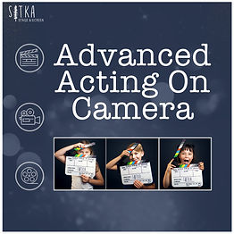 3. Saplings - Advanced Acting on Camera.