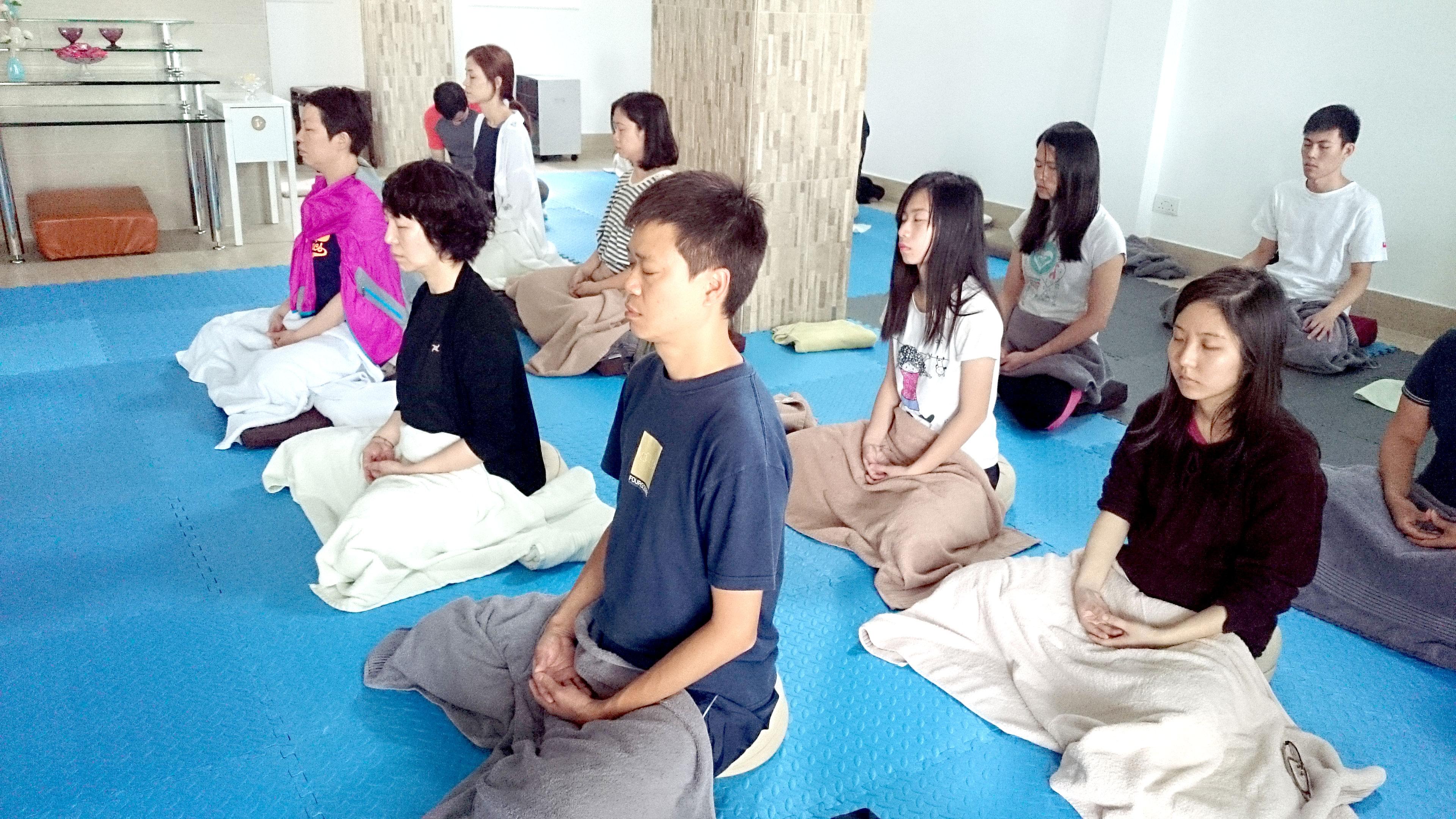 如夢如幻-「輕文化」止語禪修課程(2015 APR)
