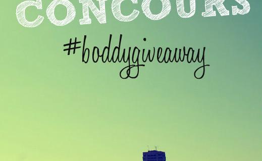 #boddygiveaway