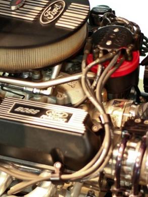 1932 Ford 75th Anniversary Deuce Roadster Motor