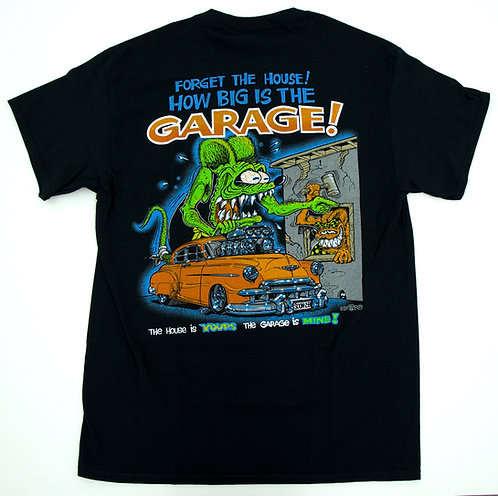"Ed ""Big Daddy""Roth How Big Is The Garage T-Shirt"