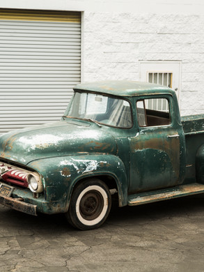 """Ed """"Big Daddy"""" Roth's Shop Truck Before"""