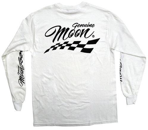 Mooneyes Genuine MOON Checker Long Sleeve T-Shirt