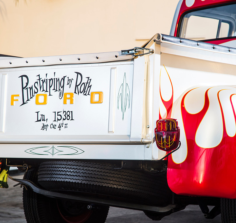 "Ed ""Big Daddy"" Roth's Shop Truck Tailgate"