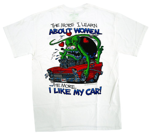 """Ed """"Big Daddy"""" Roth Learn About Women T-shirt"""