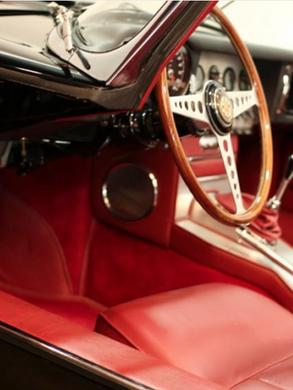 1961Jaguare E Type Interior