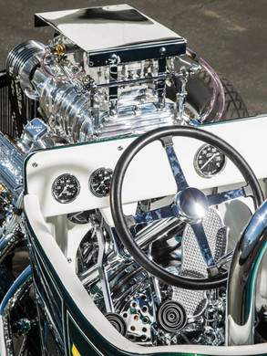 The Grass Hopper Model T InterioR