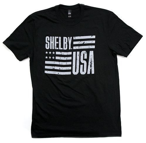 Shelby USA Black Tee